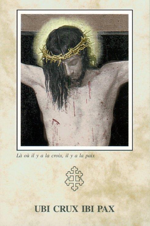 Là où il y a la croix, il y a la paix