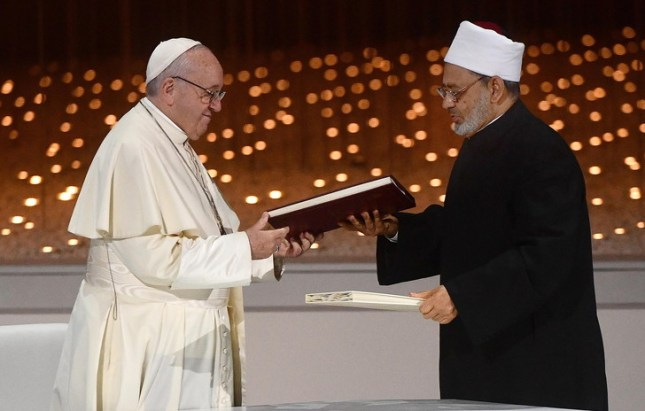 Les deux INFIDÈLES, François Ø et Ahmed Al Tayeb