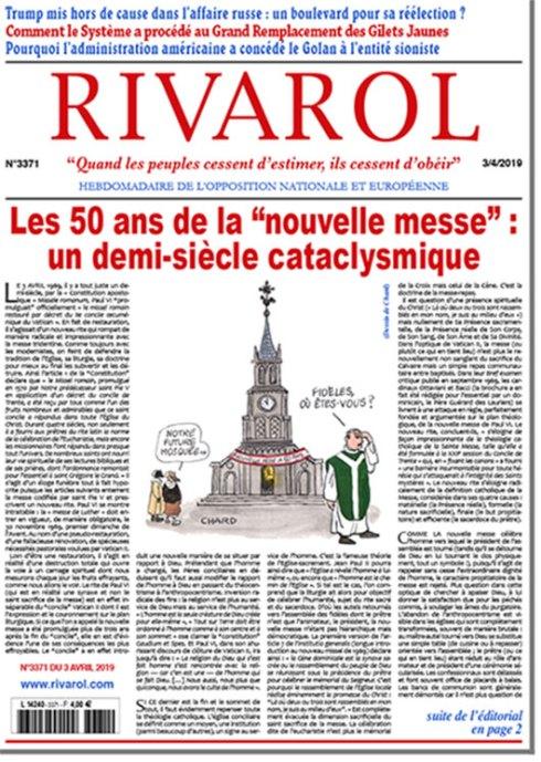 """Les 50 ans de la """"nouvelle messe"""" : un demi-siècle cataclysmique"""