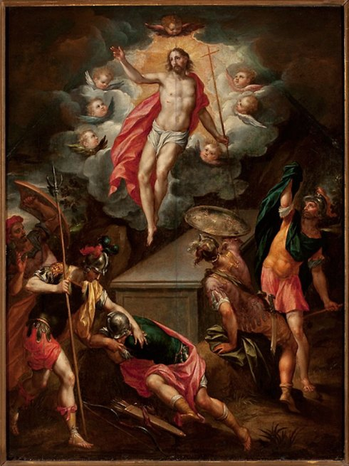 La Resurrection du Christ par Hendrick de Clerck