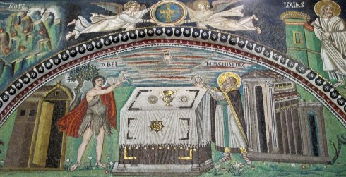 Sacrifice d'Abel et Melchisédech