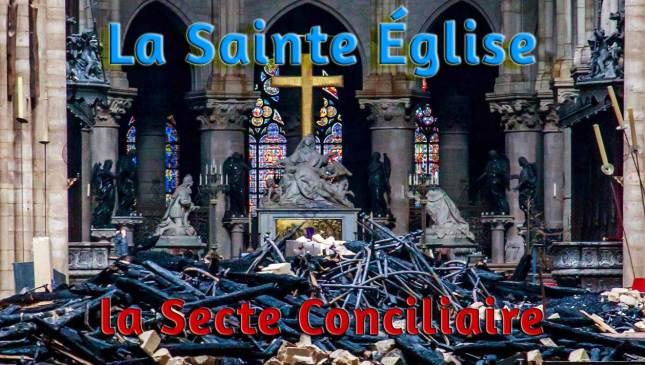La Sainte Église vs La Secte Conciliaire