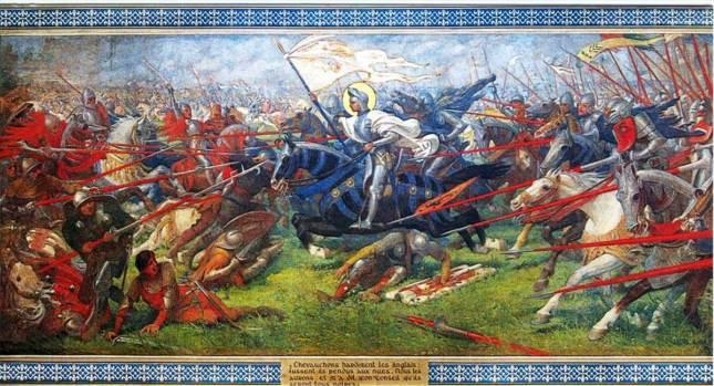 Jeanne d'Arc au combat