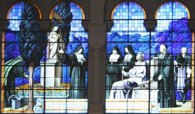 Mgr de Belsunce consacrant la ville de Marseille au Sacré-Cœur de Jésus