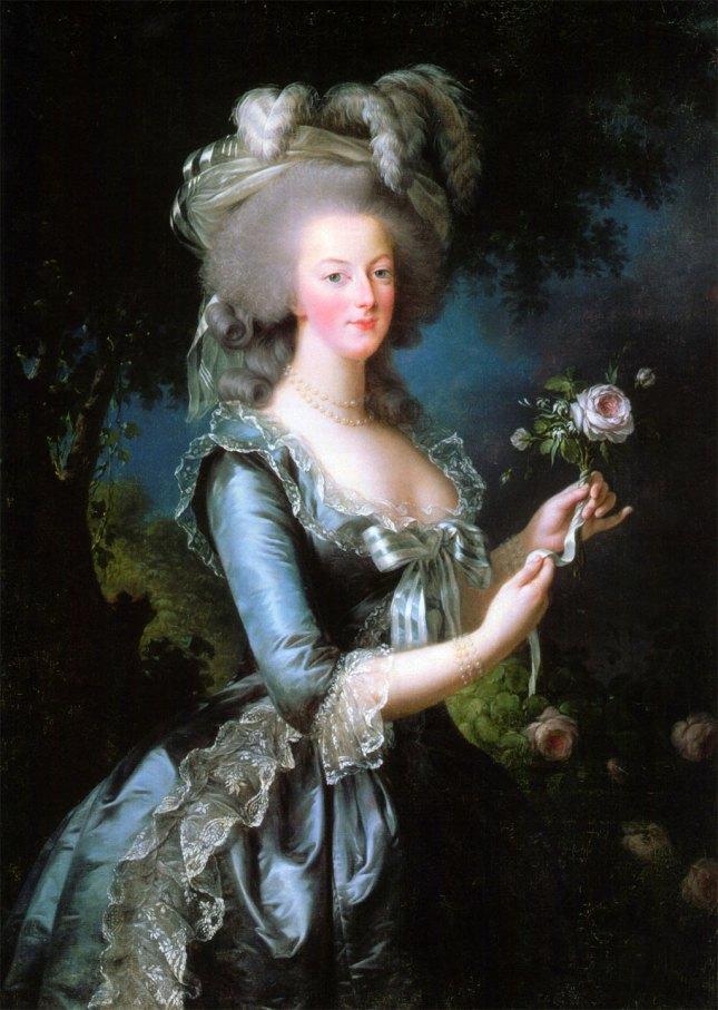 Marie-Antoinette en 1783 par Élisabeth Vigée Le Brun.