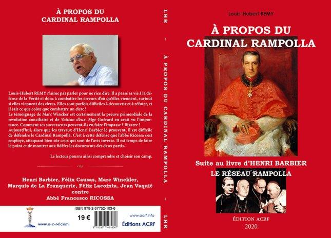 À propos du Cardinal Rampolla, suite au livre d'Henri Barbier, Le réseau Rampolla.
