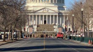 l'armée au Capitole