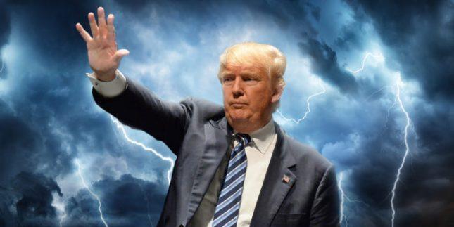 L'entrée dans la Tempête de Donald Trump