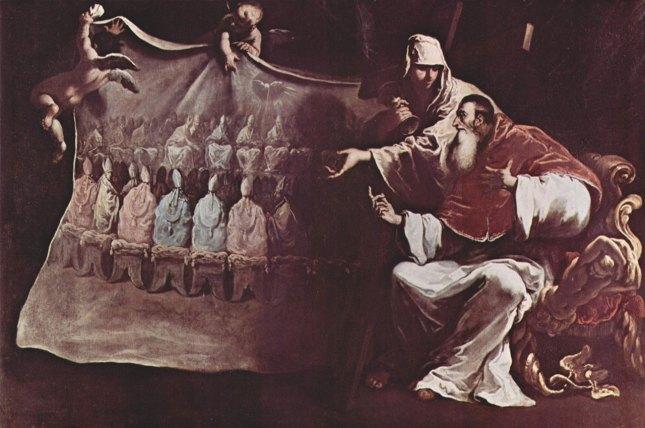 Paul III inspiré par la Foi pour convoquer le Concile de Trente