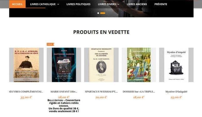 La boutique des Éditions GdG