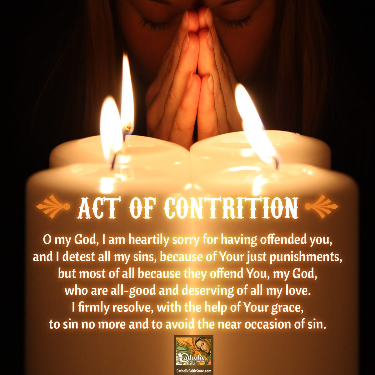 The Act Of Contrition