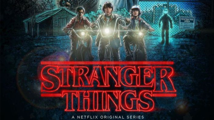 Top 10 seriale Netflix - Stranger Things