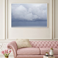 Summer Storm No 2 - Extra large cloud wall art by Cattie Coyle Photography