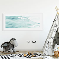 Face of the Waters No. 1 Kids room wall decor by Cattie Coyle Photography