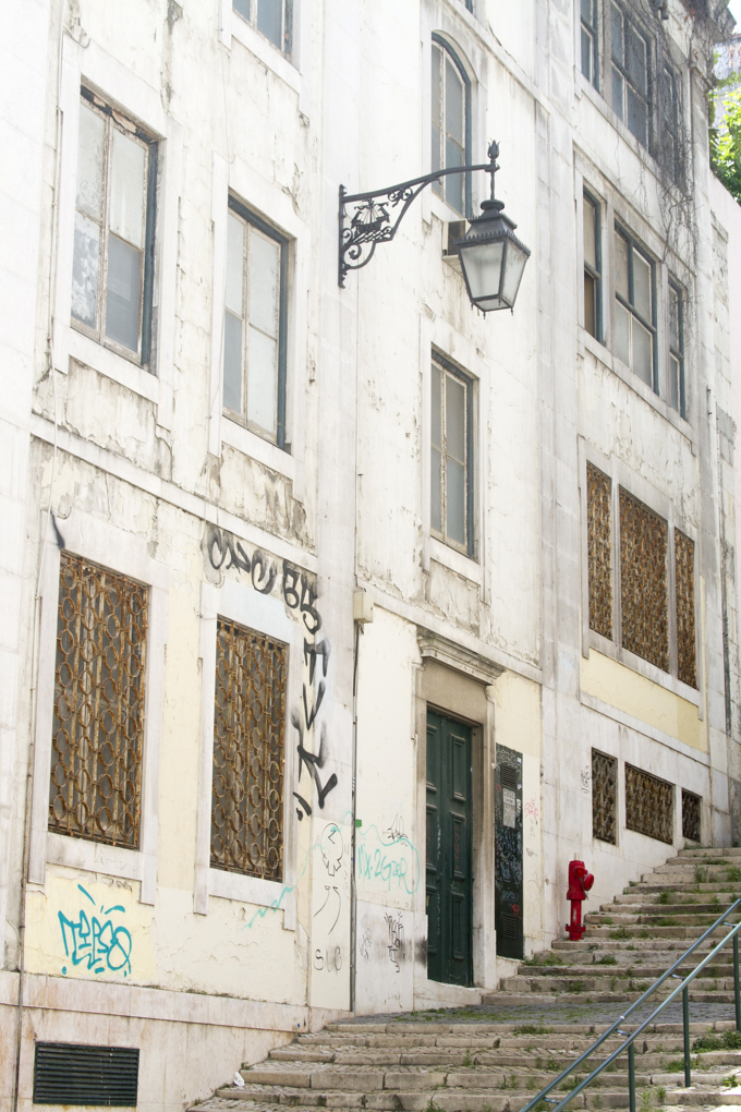 Lisbon buildings by Cattie Coyle Photography