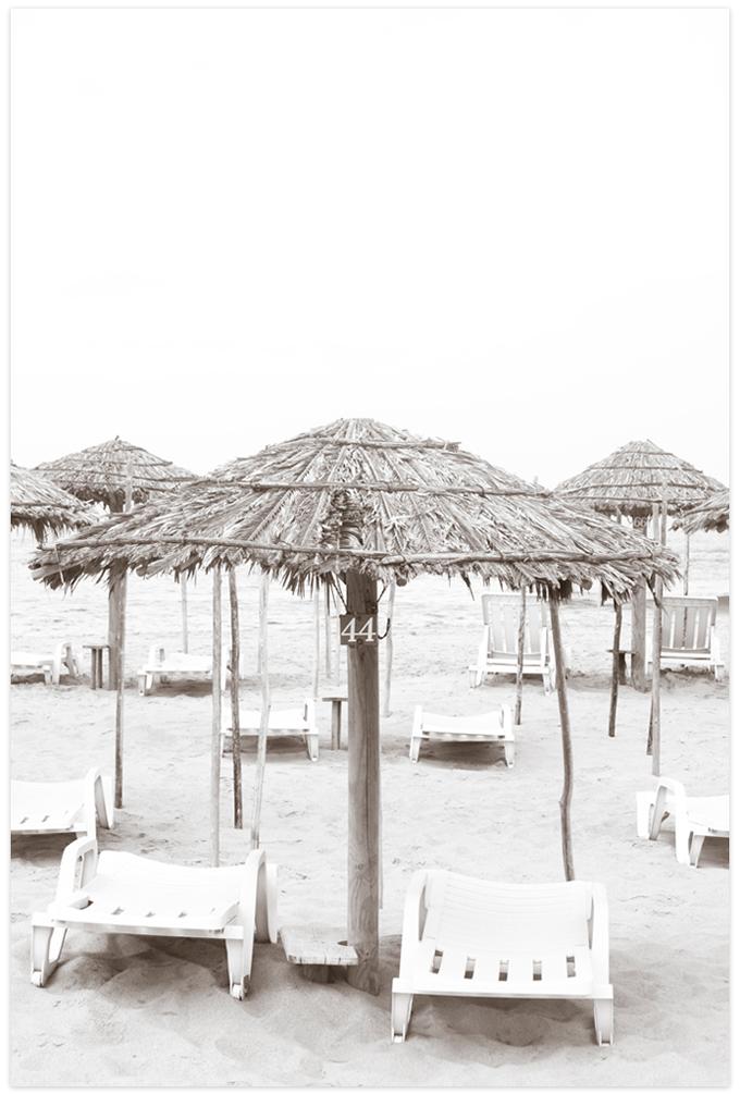 Beach Days No 2 Fine art print by Cattie Coyle Photography