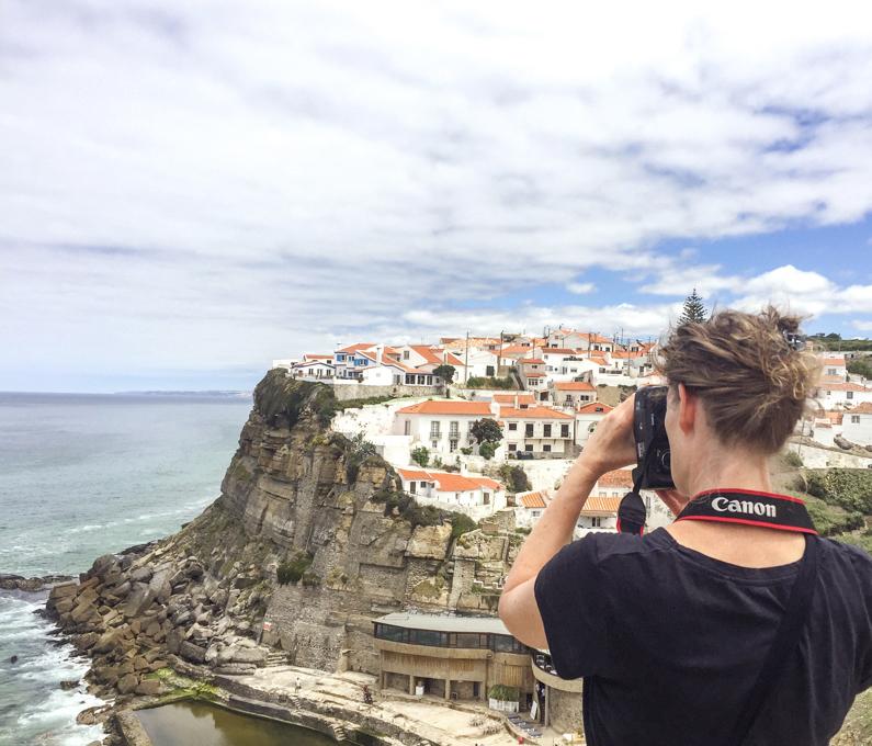 Cattie Coyle Photography in Azenhas do Mar b