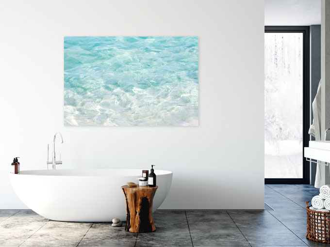 Bying Art Online: Turquoise Water acrylic print by Cattie Coyle Photography