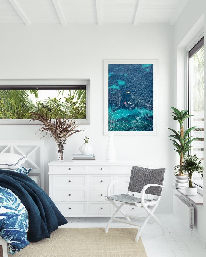 Côte d'Azur No 2 - Ocean art print by Cattie Coyle Photography