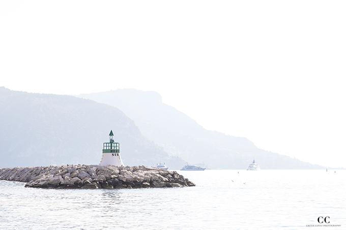 Riviera Reverie: Beaulieau-sur-Mer Seascape by Cattie Coyle Photography