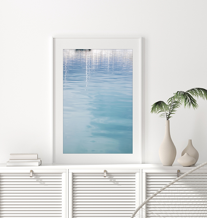 Antibes - French Riviera art print by Cattie Coyle Photography