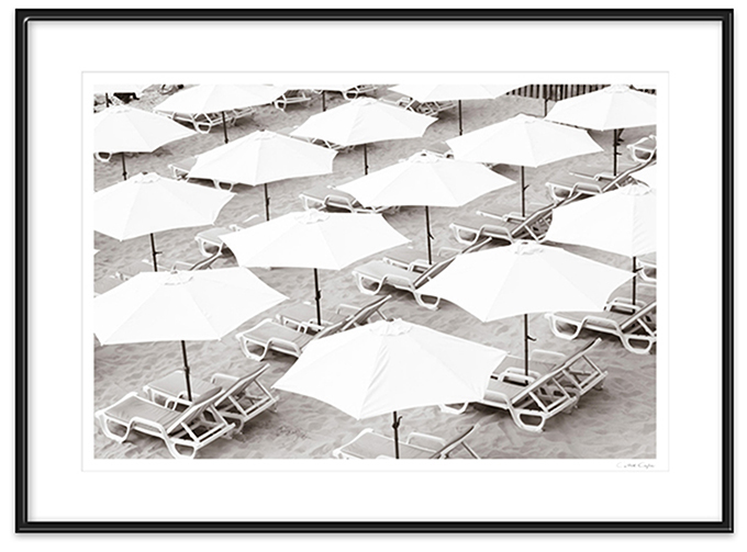Beach Days No 8 - Framed prints by Cattie Coyle Photography