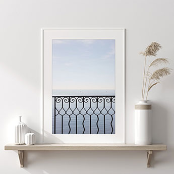 Quiet Morning - Calm sea wall art by Cattie Coyle Photography