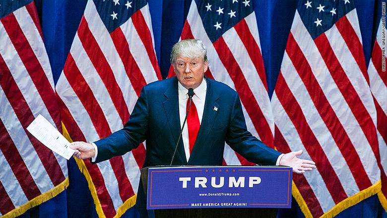 Donald Trump - SWOT analysis