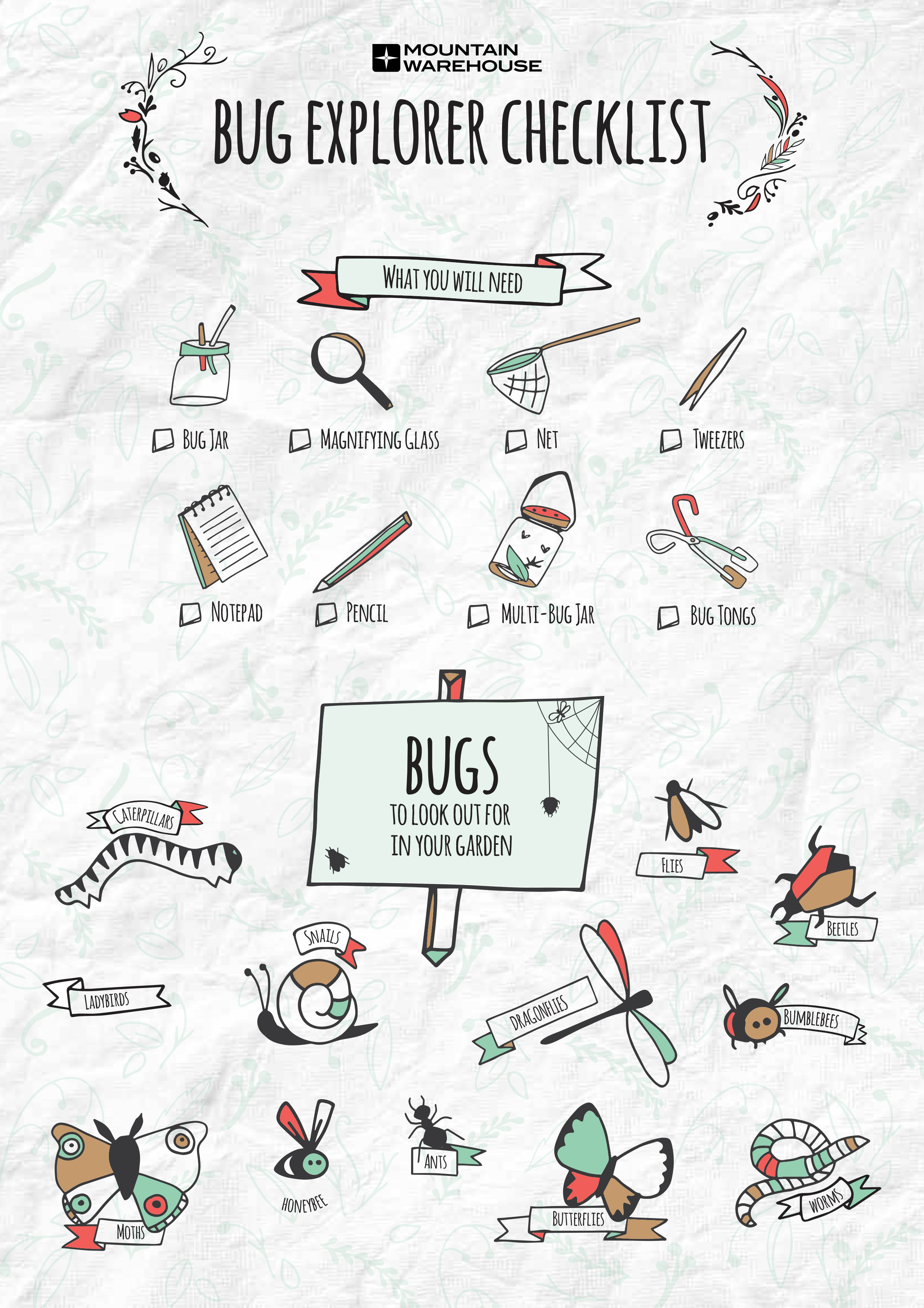 Bug Explorer Check List