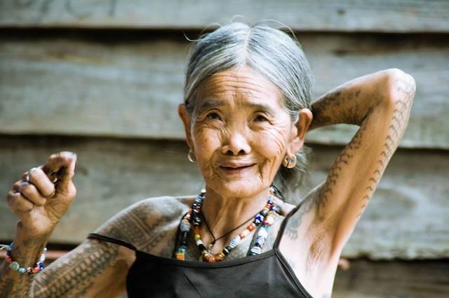 フィリピン・カリンガタトゥー【100歳人間国宝のトライバルタトゥー】