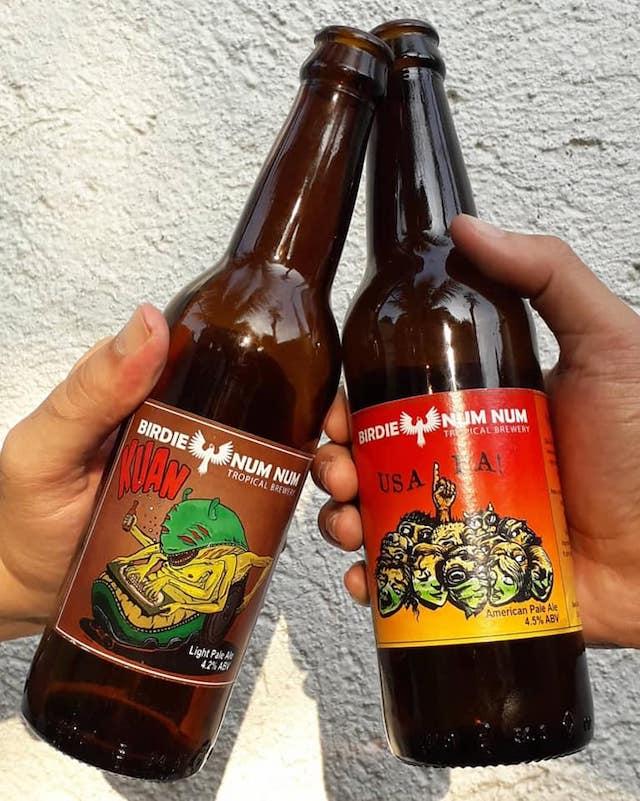 Birdie Num Num Tropical Brewery