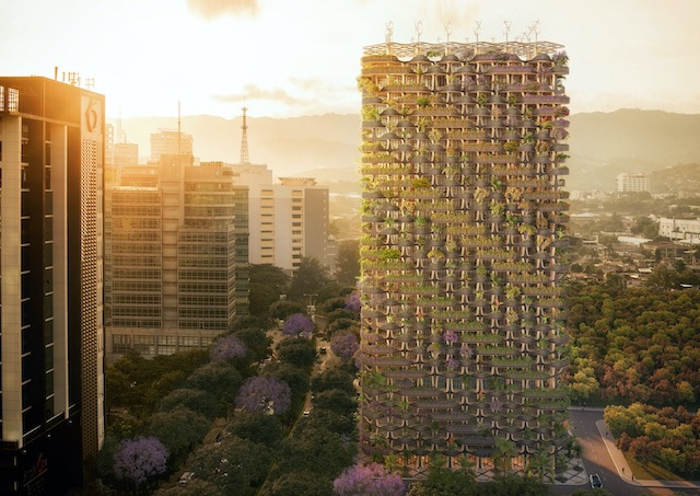 【セブ島の近未来建築】The Rainbow Tree(レインボーツリー)