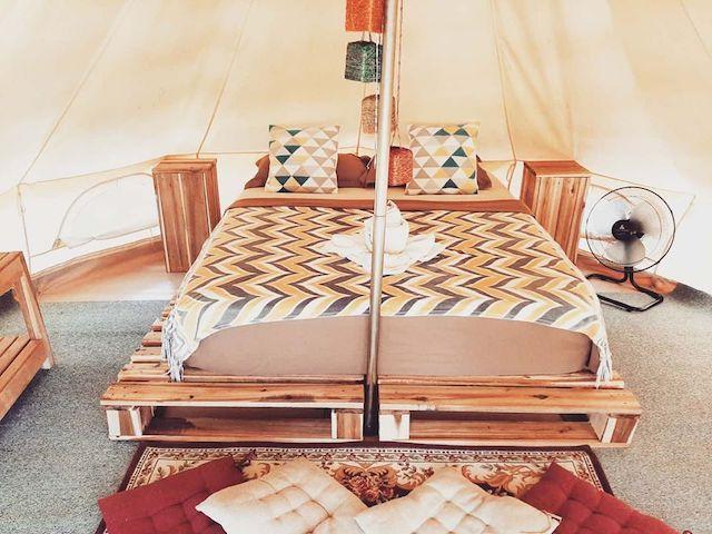 Cabanas de Nacpan Camping Resort【フィリピンの人気グランピング施設10選】気軽に贅沢キャンプ!