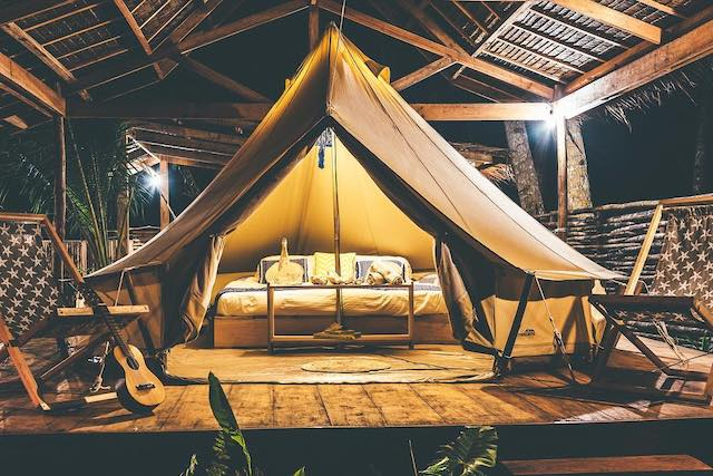 Soultribe Beach Retreat【フィリピンの人気グランピング施設10選】気軽に贅沢キャンプ!