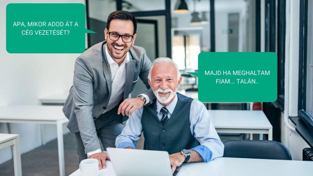 családi vállalkozás: cégvezetés átadása