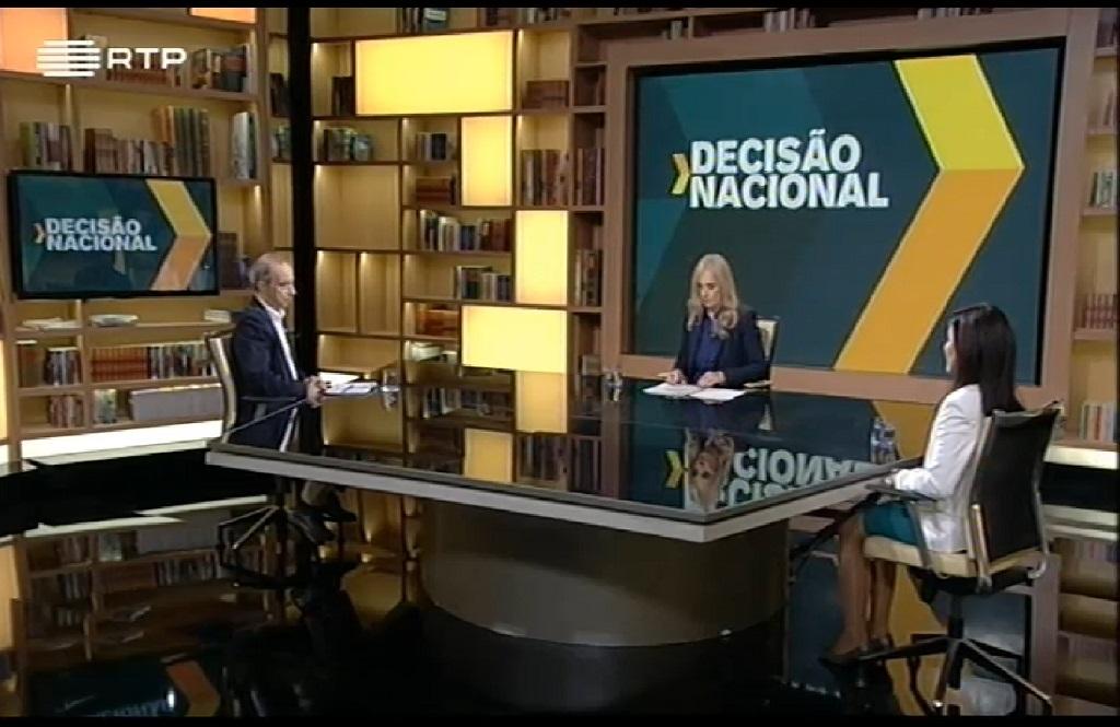 Comentário de Luís Nuno Rodrigues no programa Decisão Nacional