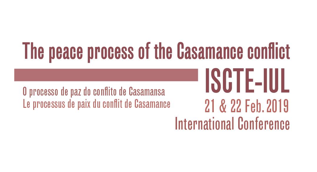 21 & 22 FEV | Conferência Internacional Processo de paz do conflito de Casamansa