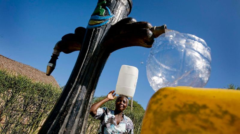 Assessing the short-term outcomes of a piped water supply intervention in peri-urban Mozambique