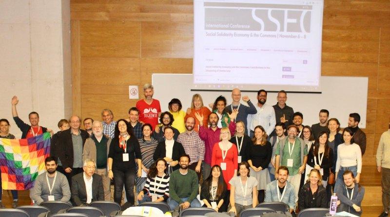 """Um balanço sobre a conferência """"Social Solidarity Economy and the Commons"""""""