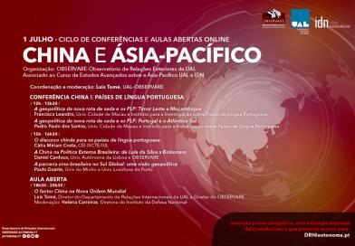1 JUL | China e Países de Língua Portuguesa