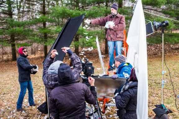 Behind the scenes of Leda - Seeds Winning Teaser.