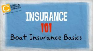 Boat Insurance Basics