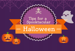 Halloween blog infographic