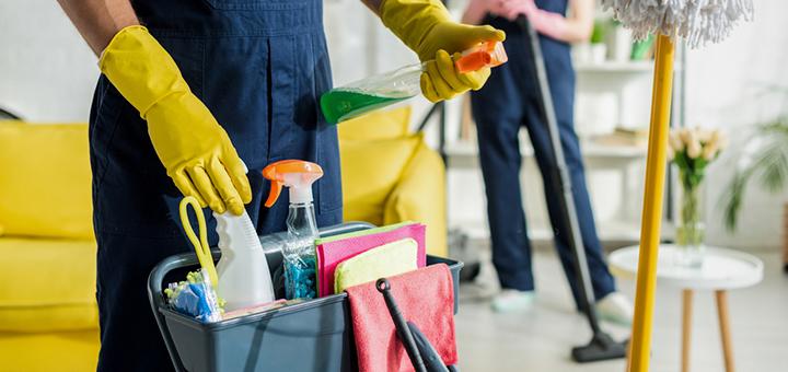 Consejos de limpieza durante temporada de enfermedades