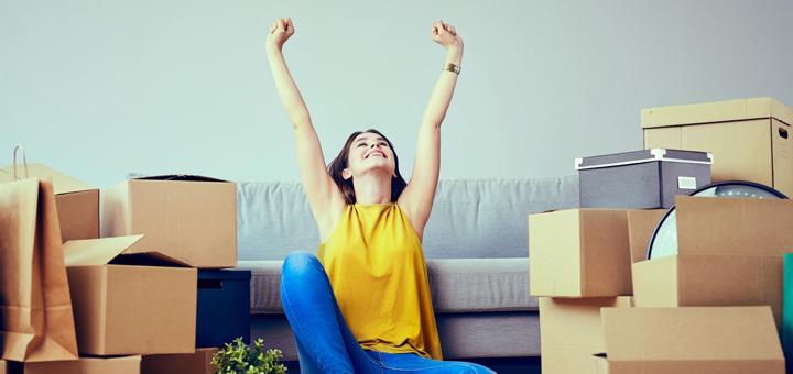 Tips para empacar tus cajas de mudanza sin estrés