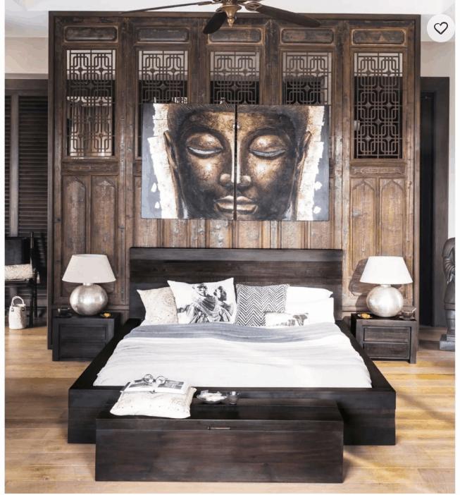 decoration d interieur le bout de lit