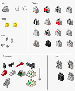 Preview : Lego People