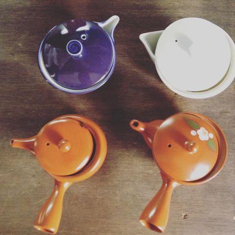 いい天気!お茶日和〜 #お茶の時間 #種ノ箱 なんのお茶いれたかは #ナイショ (Instagram)