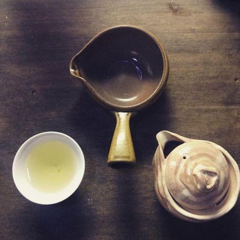 宇治白川の煎茶。ぬるめのお湯で、長めに待つ。円やかな飲み心地。 (Instagram)