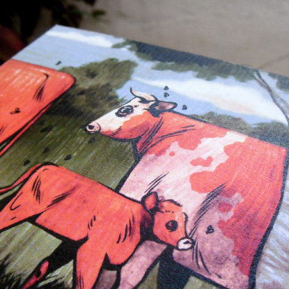 Vaches carrées